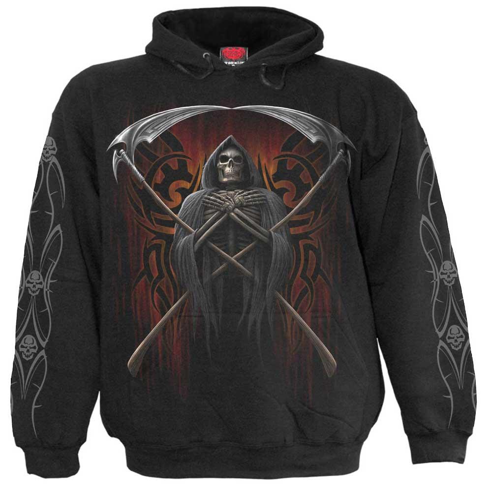 Judge Reaper, gothic metal fantasy skele