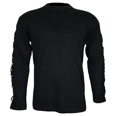 Cross strap longsleeve black - Spiral
