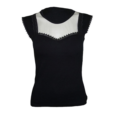 Lace corset, gothic fantasy metal top zw