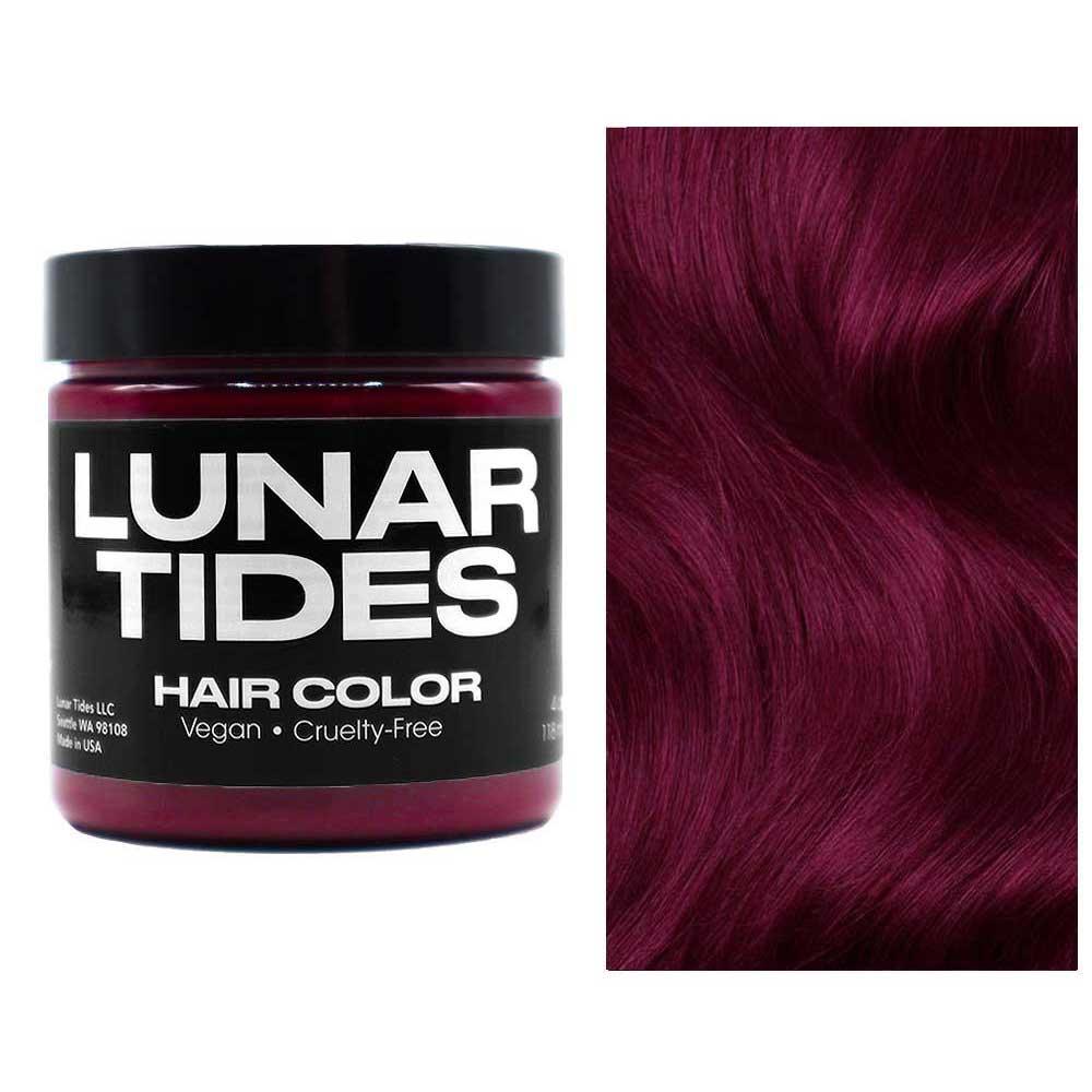 Lunar Tides Cranbaby, semi-permanente Haarfarbe rot - 118 ml - Lunar Ti